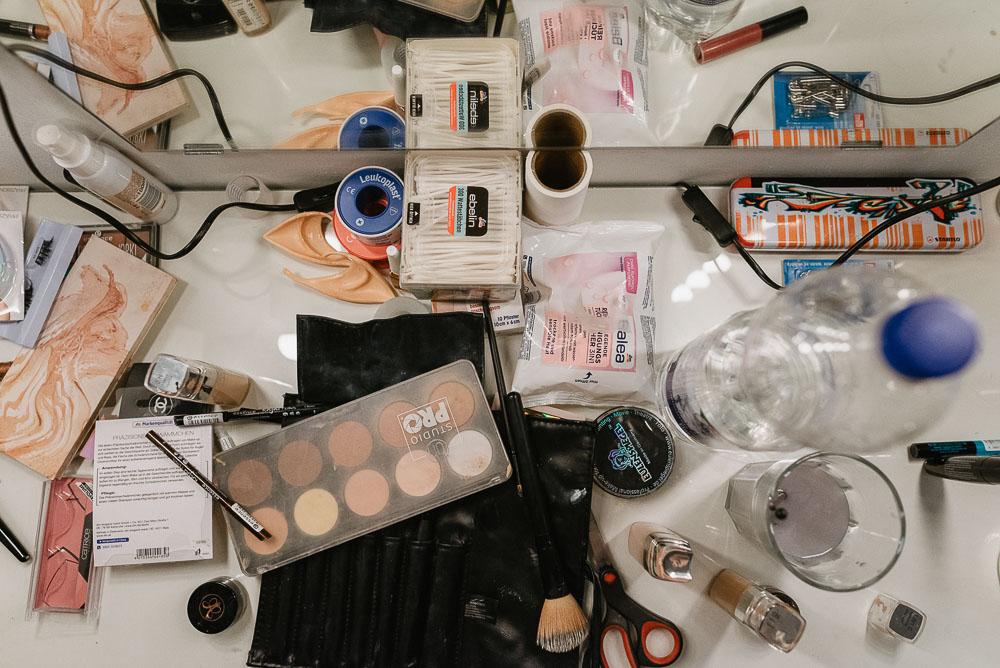 Backstage: Maske