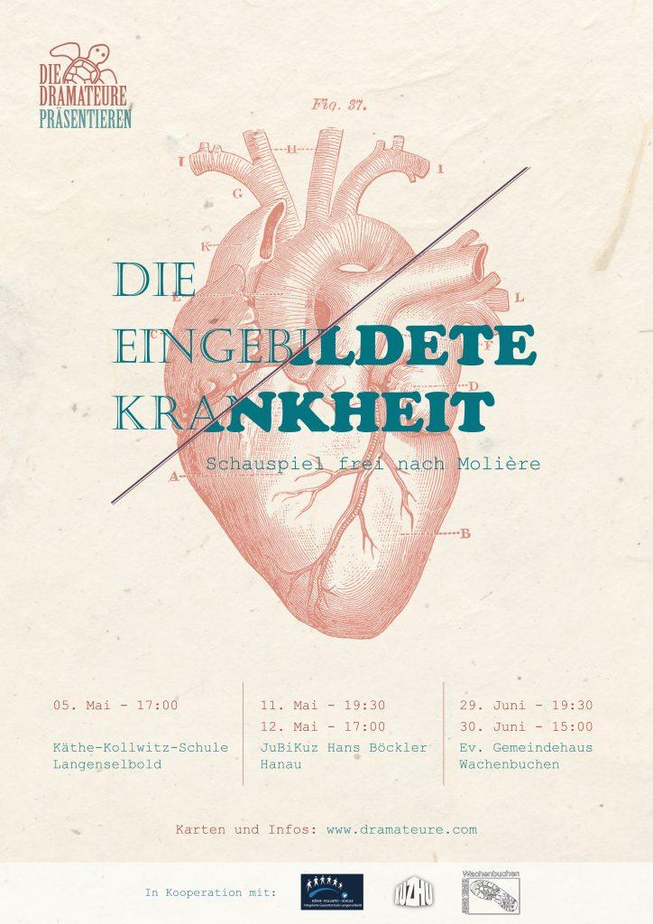 Theaterplakat Die eingebildete Krankheit